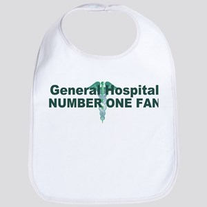 General Hospital number one fan large Bib