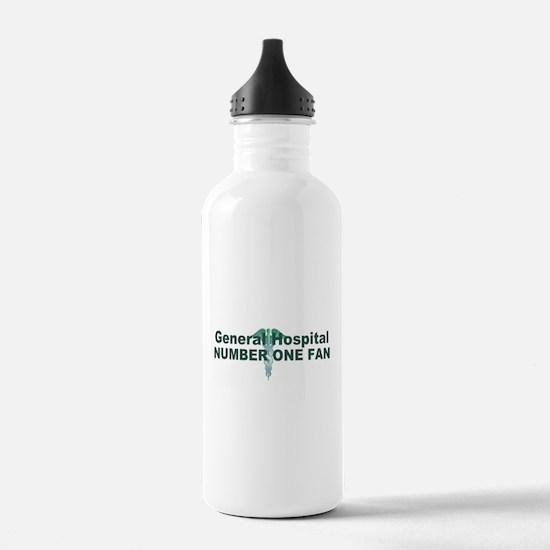 General Hospital number one fan large Water Bottle