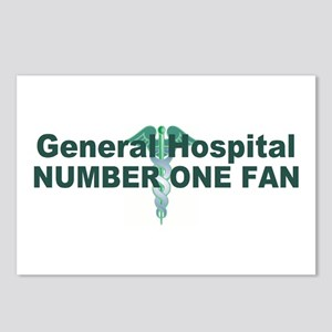 General Hospital number one fan large Postcards (P