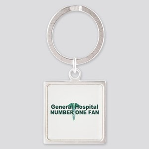 General Hospital number one fan large Keychains