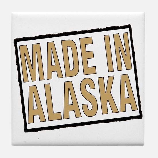 Unique Born alaska Tile Coaster