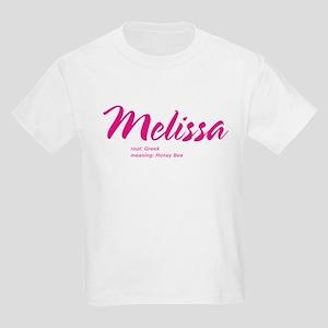 Personalized Melissa Kids T-Shirt