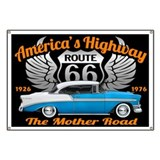 Route 66 Banners