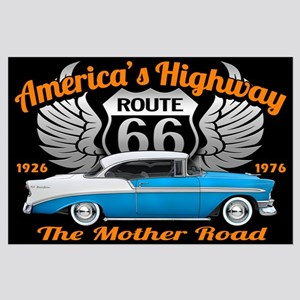 America's Highway 66 Large Poster