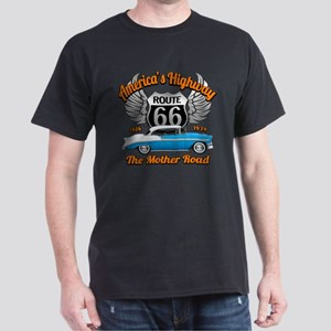 America's Highway 66 Dark T-Shirt