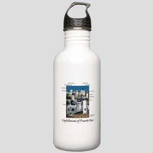 Lighthouses of Puerto Rico Water Bottle