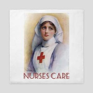 Nurses Care Queen Duvet