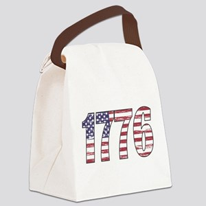 1776 Flag Canvas Lunch Bag