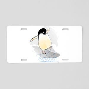Balance Aluminum License Plate
