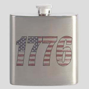 1776 Flag Flask