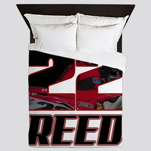 22 Reed Queen Duvet