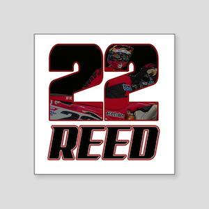 22 Reed Sticker