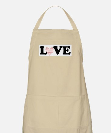 LOVE by QI Apron