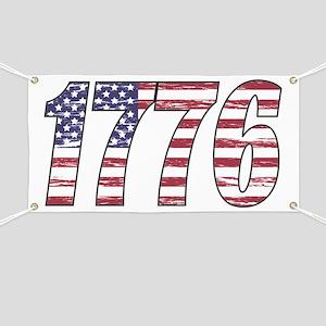 1776 Flag Banner