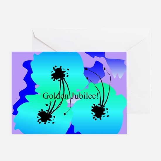 Golden jubilee blanket 1 Greeting Card