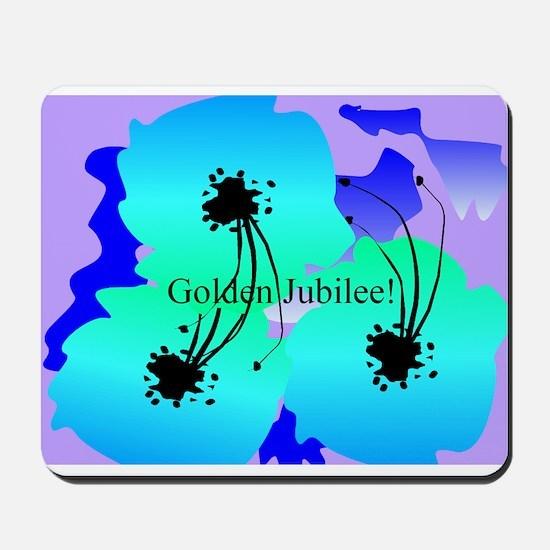 Golden jubilee blanket 1 Mousepad