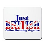 Just British Words Only Mousepad
