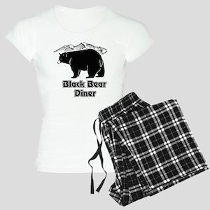 Black Bear Logo Pajamas