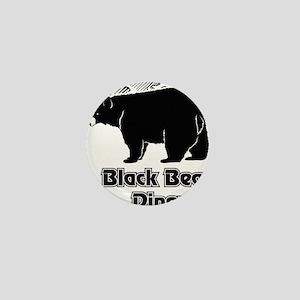Black Bear Logo Mini Button