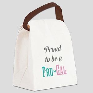 Fru-Gal Canvas Lunch Bag