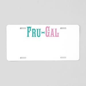 Fru-Gal Aluminum License Plate