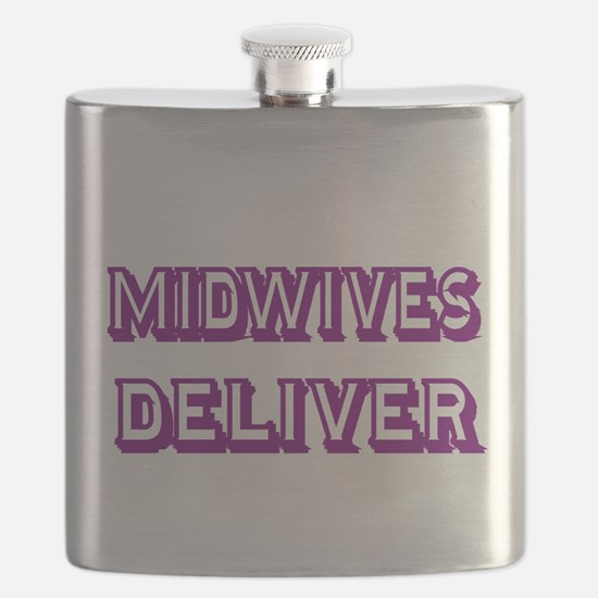 MIDWIVES DELIVER 3 Flask