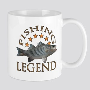Fishing legend Striped Bass Mug
