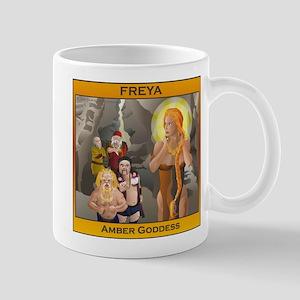 FREYA Amber Goddess Mug