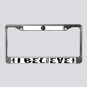 Pyrite License Plate Frame