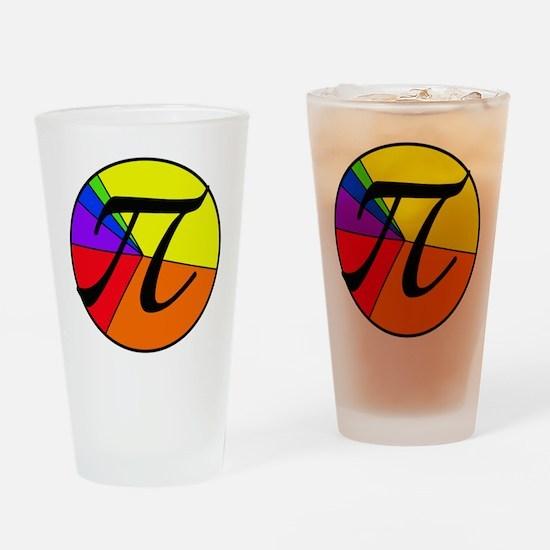 PI chart Drinking Glass