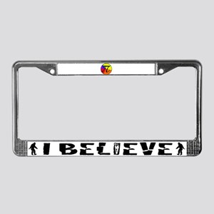 PI chart License Plate Frame