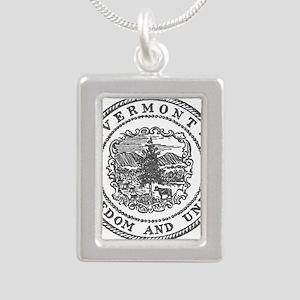 Vintage Vermont seal Necklaces