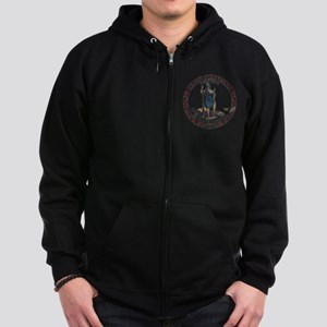Virginia Vintage State Flag Zip Hoodie