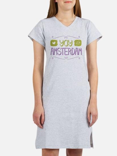 Yay For Amsterdam Women's Nightshirt