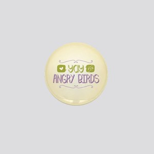 Yay for Angry Birds Mini Button