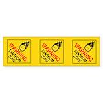 Tantrum Zone Sticker (Bumper)