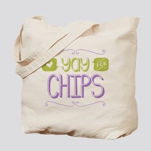 Yay for Chips Tote Bag