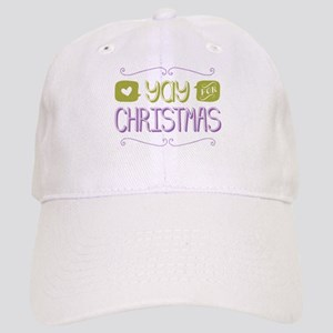 Yay for Christmas Baseball Cap