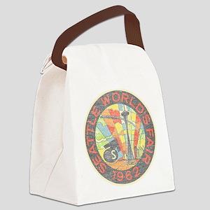Seattle Worlds Fair Canvas Lunch Bag