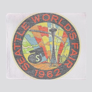 Seattle Worlds Fair Throw Blanket