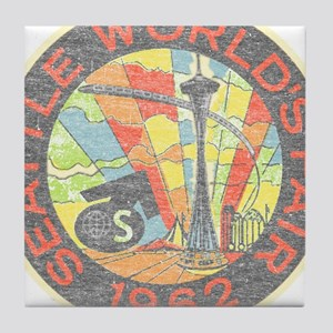Seattle Worlds Fair Tile Coaster
