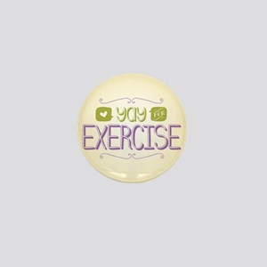 Yay for Exercise Mini Button