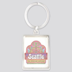 Vintage Seattle Keychains