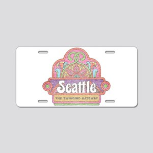Vintage Seattle Aluminum License Plate