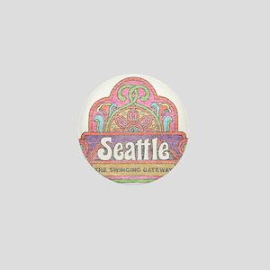 Vintage Seattle Mini Button