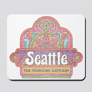 Vintage Seattle Mousepad