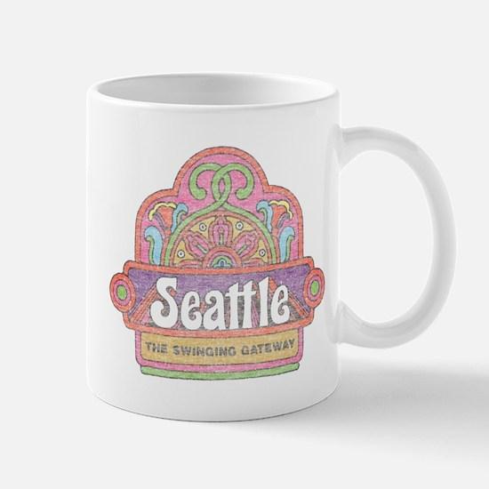 Vintage Seattle Mug