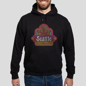 Vintage Seattle Hoodie