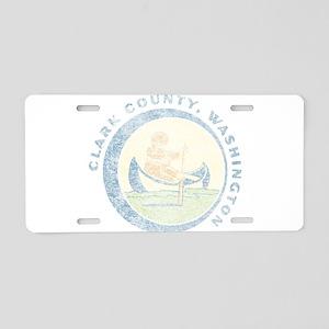 Clark County Washington Aluminum License Plate