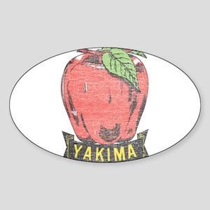 Vintage Yakima Apple Sticker